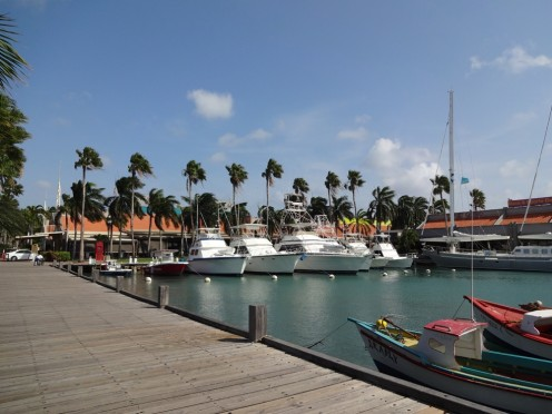 Picturesque views aplenty in Aruba.