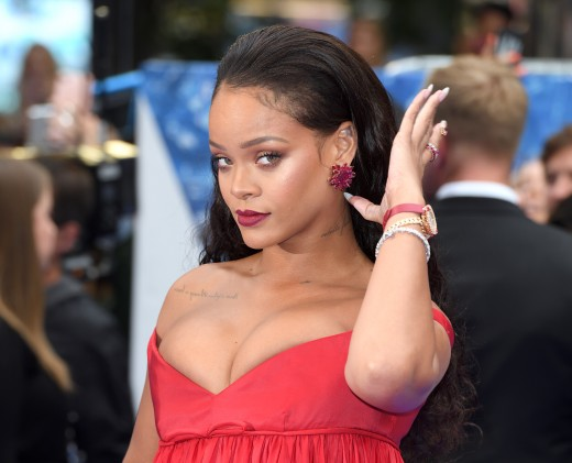 Robyn Rihanna Fenty is a Barbados-born singer, songwriter and actress.