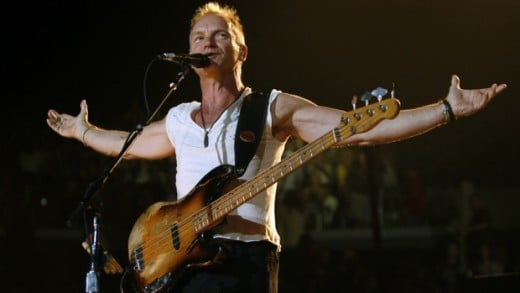 Gordon Matthew Thomas Sumner is known as Sting professionally.  He launched a solo career in 1985 after having been the lead singer and bassist for a group called The Police.