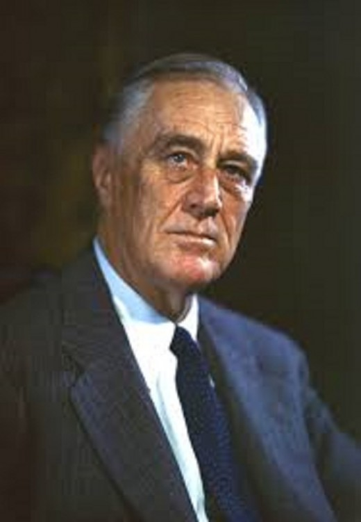 President Roosevelt, saw the United States through most of the Second World War.