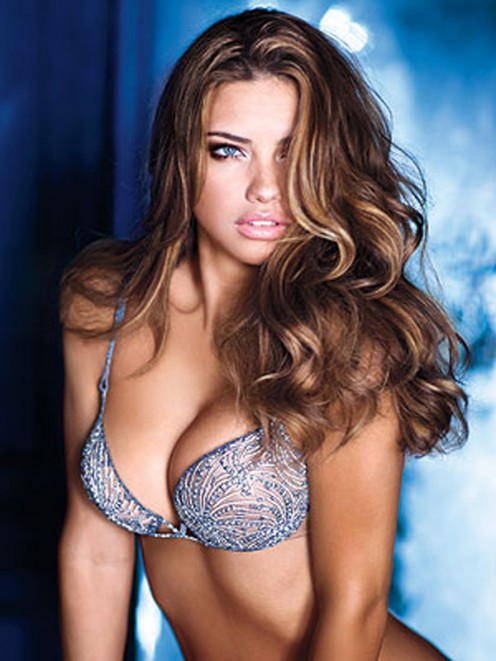 Wearing a jewel encrusted bra is probably not very comfortable--but certainly would draw attention!