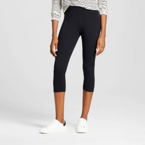 Mid-Calf leggings are also great for yoga or workouts.