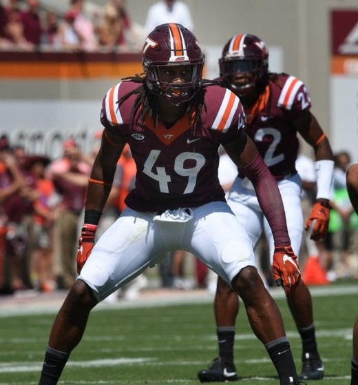 Tremaine Edmunds, LB, Virginia Tech