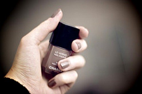 Neutral nail shades coordinate with everything.
