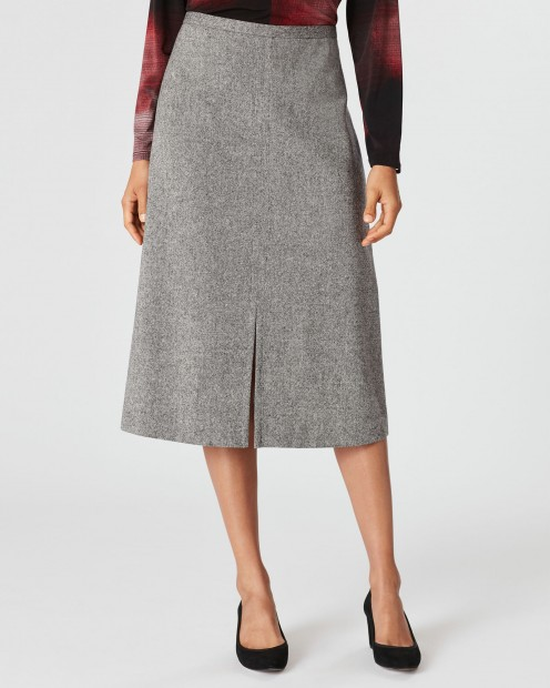 A-line skirts are flattering for all body types.