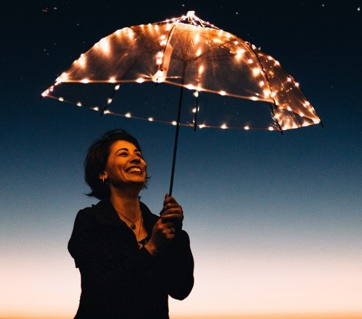 Dreaming of an umbrella symbolizes your need of emotional help