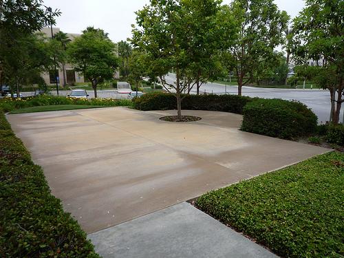 Concrete Patio, photo by goincase on flickr.com
