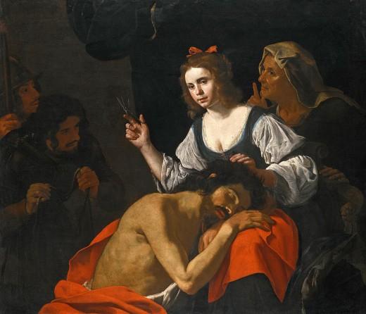 Samson and Delilah:  Hendrick von Somer