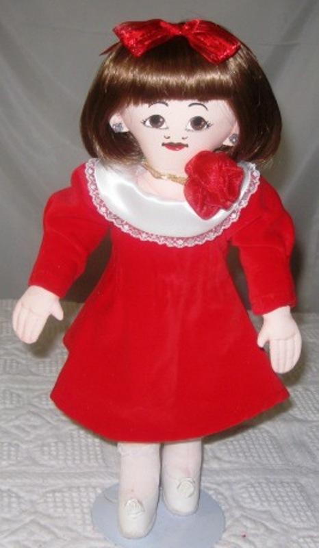 All cloth play doll