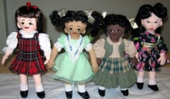 Multicultural Dolls and Kids