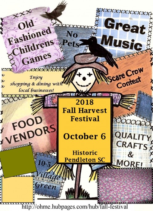 I love the Fall Harvest Festival.  It is such fun and great to see people of all ages enjoying it.