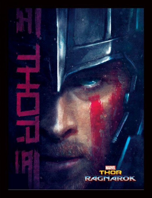 (cc image, WeGeekGirls) Thor: Ragnarok 'Thor' Poster