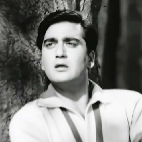 A great song by Mohammad Rafi in Raag Bhupali, in a musical suspense drama featuring Mala Sinha & Sunil Dutt