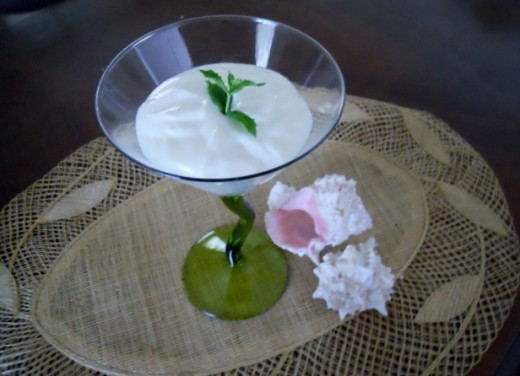 Mojito Yogurt