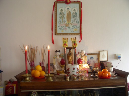 Having a traditional ancestor altar will invite your ancestors into your magical home.