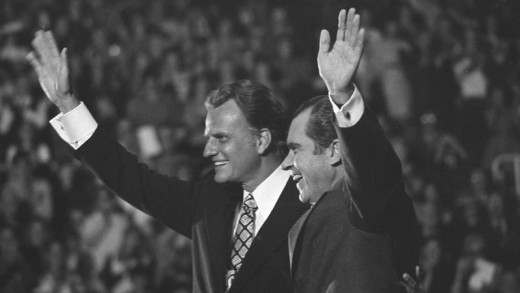 Nixon and Graham Together In Charlotte, NC