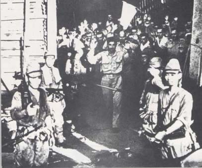 Surrender of U.S. Army Troops On Corregidor 1942