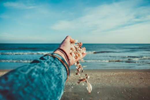 Seashells are a representation of the sea's love, fertility, and healing abilities.