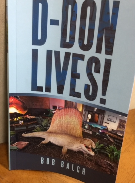 Bob Balch has written new book on prehistoric creatures