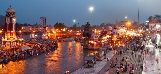 Har-ki-pauri at Haridwar