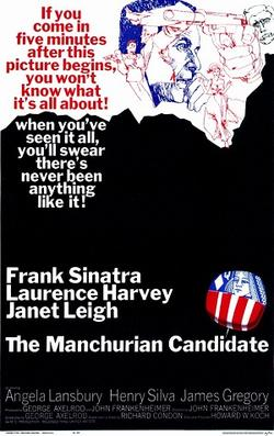 The Manchurian Candidate Theatrical Release Poster