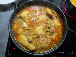 Chicken Curry With Potatoes and Peas