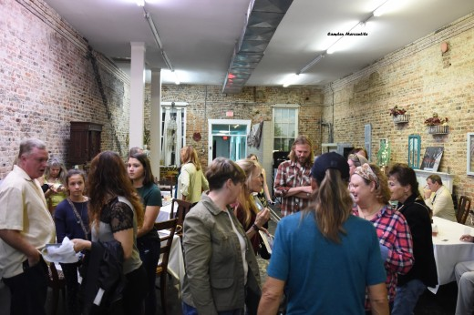 The Meet & Greet took place at The Camden Mercantile.