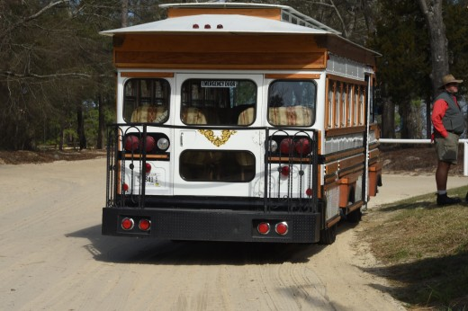The trolley took guests on an historic tour of Camden.