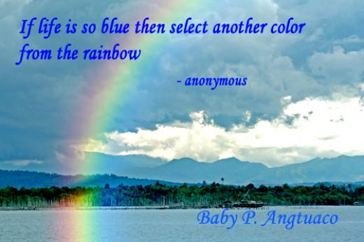 wish me a rainbow