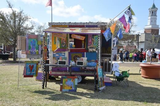 "Christy Buchanan's ""Porcha"" (the Art Porch)"