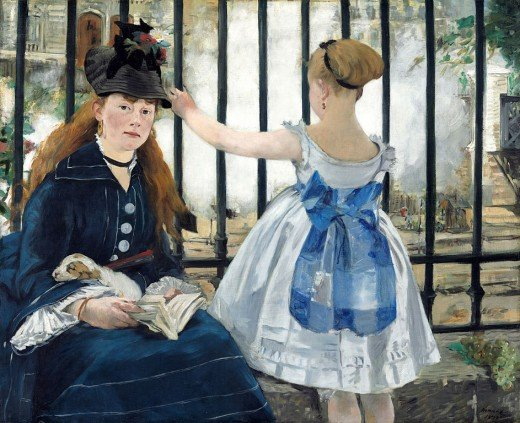 The Railway by Edward Manet is a pretty snapshot of 19th century France. But what was life like for the railroad workers who built the railway? Or the nannies who cared for the children of the privileged few?