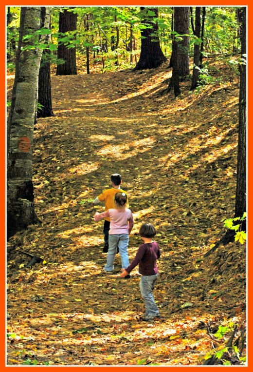 Children like to explore, but parents need to observe them closely when they do in order to avoid problems.