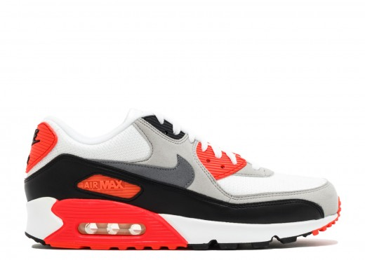 Bigger air, infrared colors, timeless sneaker
