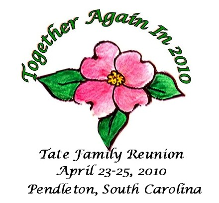 Tate Family Reunion - Photo Credit: Tate Family Reunion 2010 logo created by OhMe. The photos on this page are not to be copied without permission from a member of the AB Tate Family.