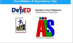 Alternative Learning System: A Chance to Finish Basic Education in the Philippines
