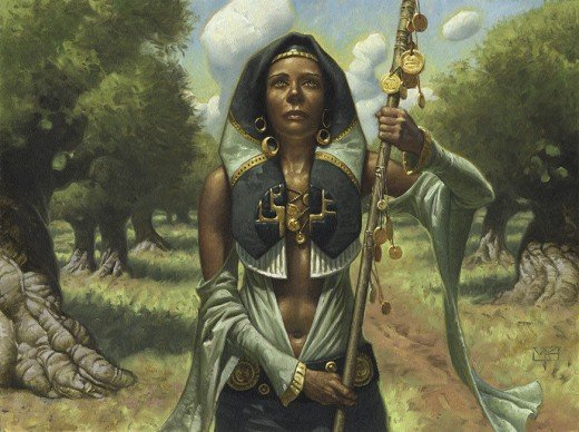 Official artwork for Noble Hierarch.