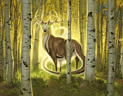 Official artwork for Great Sable Stag.