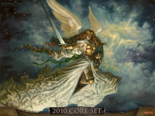 Official artwork for Baneslayer Angel.