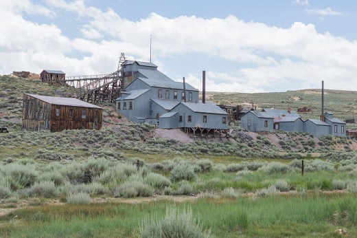 The standard Stamp Mill in Bodie, California