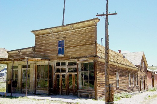 Wheaton and Hollis Hotel and Bodie Store