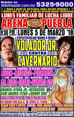 CMLL Puebla: Volador-Cavernario V