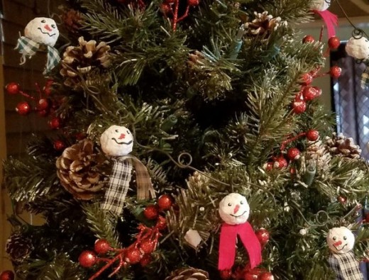 66 rustic christmas crafts feltmagnet burlap and tulle garland solutioingenieria Gallery