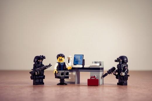 So corrupt even LEGOS aren't immune to it.