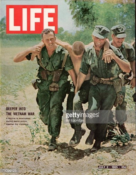 1965 - The war heats up; the media increases.