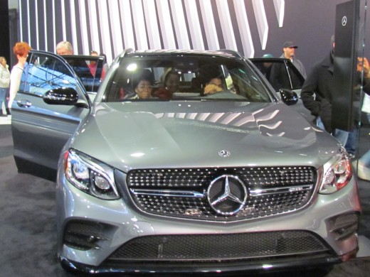 This 2018 Gray Mercedes AMG GLC43 SUV started at $56,250.