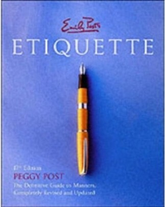 Good Etiquette doesn't seem to be as important these days but I feel it still is.