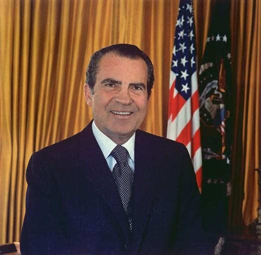 Richard M. Nixon, a former US President