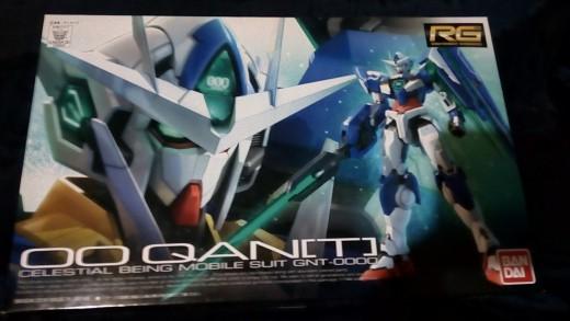 My RG Gundam Qan[T]