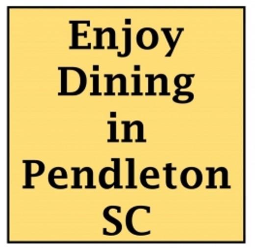 Pendleton has some wonderful restaurants
