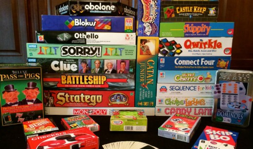 Board games can be free or cheap!